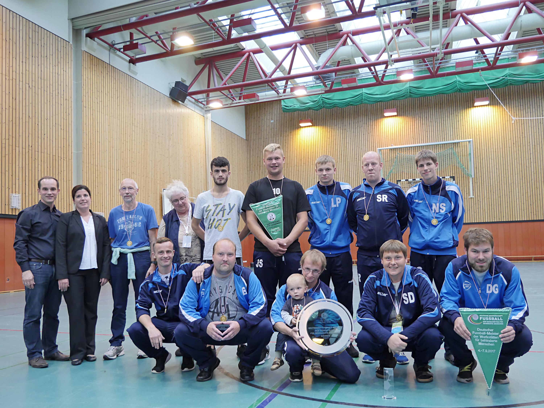 Deutsche Fuball Meisterschaft Der Werksttten Fr